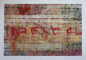 Dedy Sufriyadi,theory no.4, 200 x 140 cm, acrylic on canvas, 2010