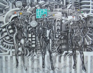 10. fashion milenium,mixed media,100x117cm,2012