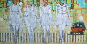 11. fashion now,mixed media,100 x200cm,2012