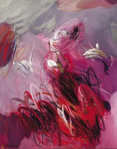 passion of conductor • 200 x 150 cm • acrylic on canvas • 2012