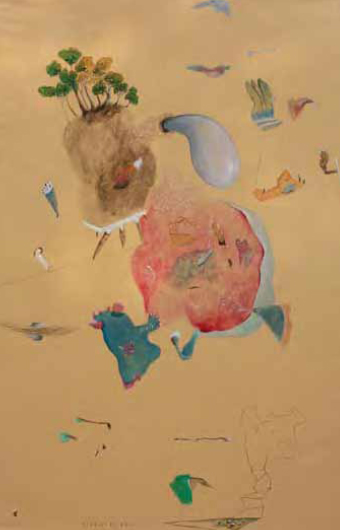 air, 140 x 90 cm, arcylic on canvas, 2011