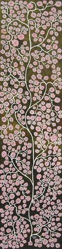PINK-FLOWER,200x50cm,Aoc,2012
