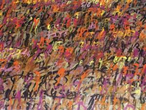 Hujan Emas #1, 150 cm x 200 cm, AOC, 2014