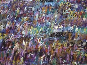 Hujan Emas #2, 150 cm x 200 cm, AOC, 2014