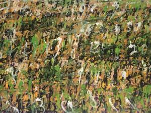 Hujan Emas #3, 150 cm x 200 cm, AOC, 2014