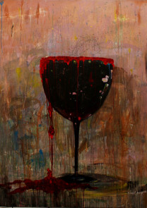 Demikianlah Rindu, akrilik-kanvas, 130x175cm, 2015