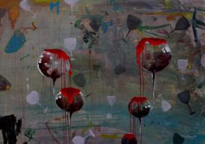 Pada Mulanya, akrilik-kanvas, 120x150cm, 2015