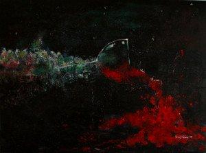 Sehabis-habisnya Buatmu,  akrilik-kanvas 120x150cm, 2015