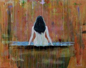 Soalnya di Depan, akrilik-kanvas, 130x175m 2015
