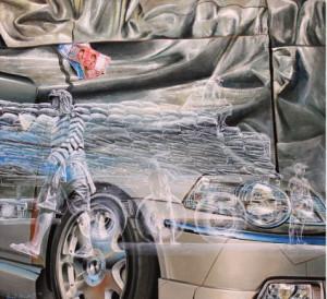 Rame ing gawe,sepi ing pamrih • 120 x 110cm • Oil on canvas • 2015